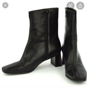 Etienne Aigner Passaic leather booties